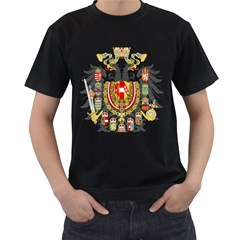 Imperial Coat Of Arms Of Austria Hungary  Men s T Shirt (black)