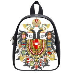 Imperial Coat Of Arms Of Austria Hungary  School Bag (small)