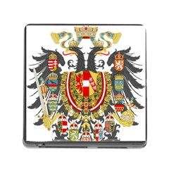 Imperial Coat Of Arms Of Austria Hungary  Memory Card Reader (square)
