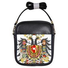 Imperial Coat Of Arms Of Austria Hungary  Girls Sling Bags