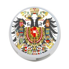 Imperial Coat Of Arms Of Austria Hungary  4 Port Usb Hub (one Side)