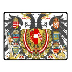 Imperial Coat Of Arms Of Austria Hungary  Fleece Blanket (small)