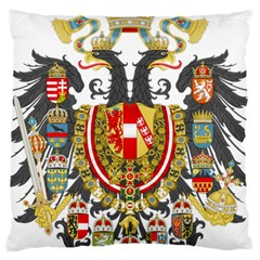 Imperial Coat Of Arms Of Austria Hungary  Large Cushion Case (two Sides)