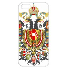 Imperial Coat Of Arms Of Austria Hungary  Apple Iphone 5 Seamless Case (white)