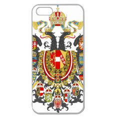 Imperial Coat Of Arms Of Austria Hungary  Apple Seamless Iphone 5 Case (clear) by abbeyz71