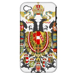 Imperial Coat Of Arms Of Austria Hungary  Apple Iphone 4/4s Hardshell Case (pc+silicone)