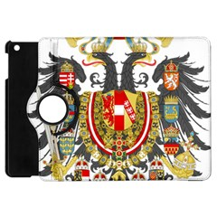 Imperial Coat Of Arms Of Austria Hungary  Apple Ipad Mini Flip 360 Case