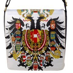 Imperial Coat Of Arms Of Austria Hungary  Flap Messenger Bag (s)