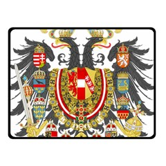 Imperial Coat Of Arms Of Austria Hungary  Double Sided Fleece Blanket (small)