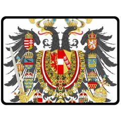Imperial Coat Of Arms Of Austria Hungary  Double Sided Fleece Blanket (large)