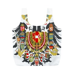Imperial Coat Of Arms Of Austria Hungary  Full Print Recycle Bags (m)