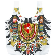 Imperial Coat Of Arms Of Austria Hungary  Full Print Recycle Bags (l)