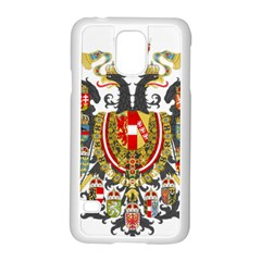 Imperial Coat Of Arms Of Austria Hungary  Samsung Galaxy S5 Case (white)