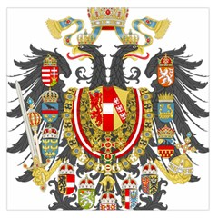 Imperial Coat Of Arms Of Austria Hungary  Large Satin Scarf (square) by abbeyz71