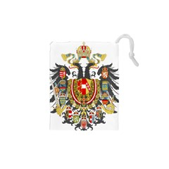 Imperial Coat Of Arms Of Austria-hungary  Drawstring Pouches (xs)  by abbeyz71