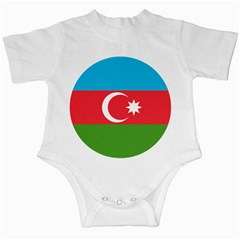 Roundel Of Azerbaijan Air Force Infant Creepers by abbeyz71