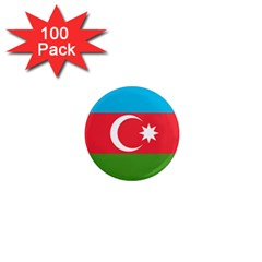 Roundel Of Azerbaijan Air Force 1  Mini Magnets (100 Pack)  by abbeyz71