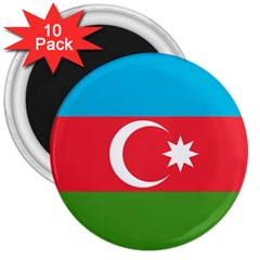 Roundel Of Azerbaijan Air Force 3  Magnets (10 Pack)  by abbeyz71