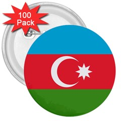 Roundel Of Azerbaijan Air Force 3  Buttons (100 Pack)  by abbeyz71