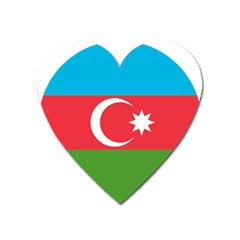 Roundel Of Azerbaijan Air Force Heart Magnet by abbeyz71
