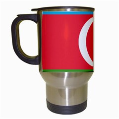 Roundel Of Azerbaijan Air Force Travel Mugs (white) by abbeyz71