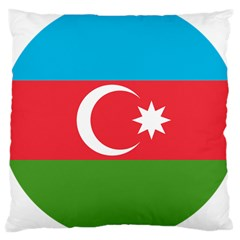 Roundel Of Azerbaijan Air Force Large Cushion Case (one Side) by abbeyz71
