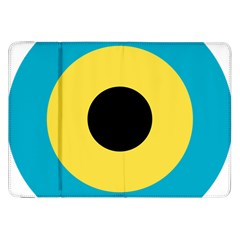 Roundel Of Royal Bahamas Defence Force Air Wing Samsung Galaxy Tab 8 9  P7300 Flip Case by abbeyz71
