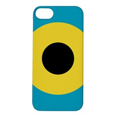 Roundel Of Royal Bahamas Defence Force Air Wing Apple Iphone 5s/ Se Hardshell Case by abbeyz71