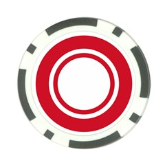 Roundel Of Bahrain Air Force Poker Chip Card Guard by abbeyz71
