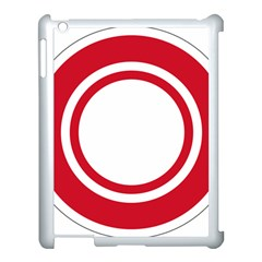 Roundel Of Bahrain Air Force Apple Ipad 3/4 Case (white) by abbeyz71