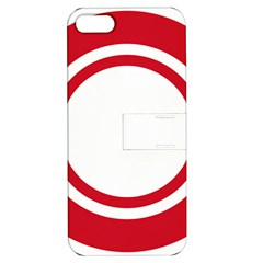 Roundel Of Bahrain Air Force Apple Iphone 5 Hardshell Case With Stand by abbeyz71
