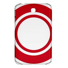 Roundel Of Bahrain Air Force Samsung Galaxy Tab 3 (7 ) P3200 Hardshell Case  by abbeyz71