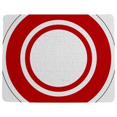 Roundel Of Bahrain Air Force Jigsaw Puzzle Photo Stand (rectangular) by abbeyz71