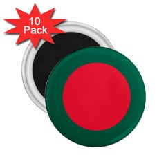 Roundel Of Bangladesh Air Force 2 25  Magnets (10 Pack)  by abbeyz71