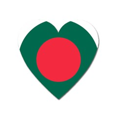 Roundel Of Bangladesh Air Force Heart Magnet by abbeyz71