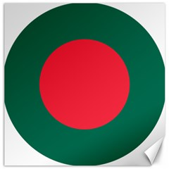 Roundel Of Bangladesh Air Force Canvas 16  X 16   by abbeyz71