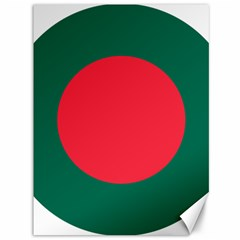Roundel Of Bangladesh Air Force Canvas 36  X 48   by abbeyz71