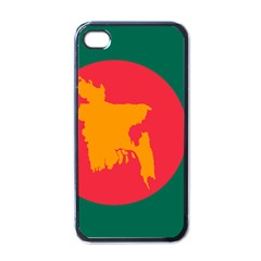 Flag Of Bangladesh, 1971 Apple Iphone 4 Case (black) by abbeyz71