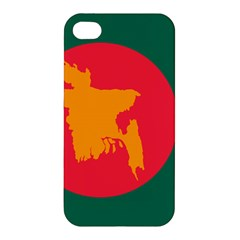 Flag Of Bangladesh, 1971 Apple Iphone 4/4s Premium Hardshell Case by abbeyz71