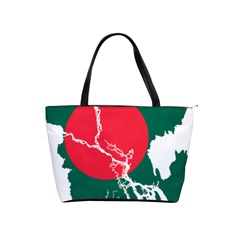 Flag Map Of Bangladesh Shoulder Handbags by abbeyz71