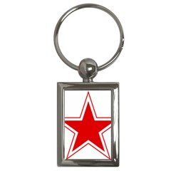 Roundel Of Belarusian Air Force Key Chains (rectangle)