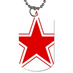 Roundel Of Belarusian Air Force Dog Tag (one Side)