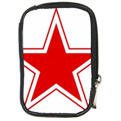 Roundel Of Belarusian Air Force Compact Camera Cases by abbeyz71