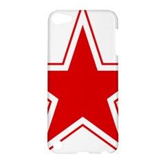 Roundel Of Belarusian Air Force Apple Ipod Touch 5 Hardshell Case by abbeyz71