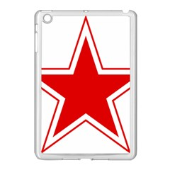 Roundel Of Belarusian Air Force Apple Ipad Mini Case (white) by abbeyz71
