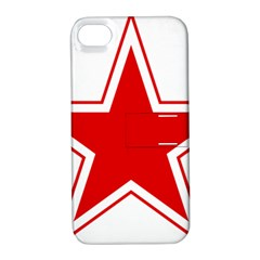 Roundel Of Belarusian Air Force Apple Iphone 4/4s Hardshell Case With Stand by abbeyz71