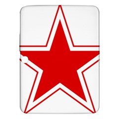 Roundel Of Belarusian Air Force Samsung Galaxy Tab 3 (10 1 ) P5200 Hardshell Case  by abbeyz71
