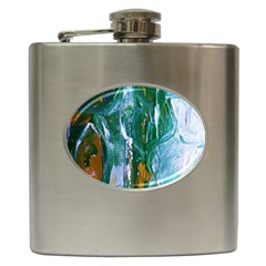 Close To Pinky,s House 6 Hip Flask (6 Oz) by bestdesignintheworld