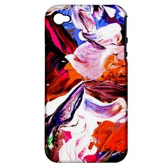 Cabin In The Mountain 2 Apple Iphone 4/4s Hardshell Case (pc+silicone)