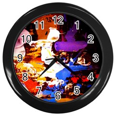 Balboa   Island On A Sand 16 Wall Clocks (black) by bestdesignintheworld